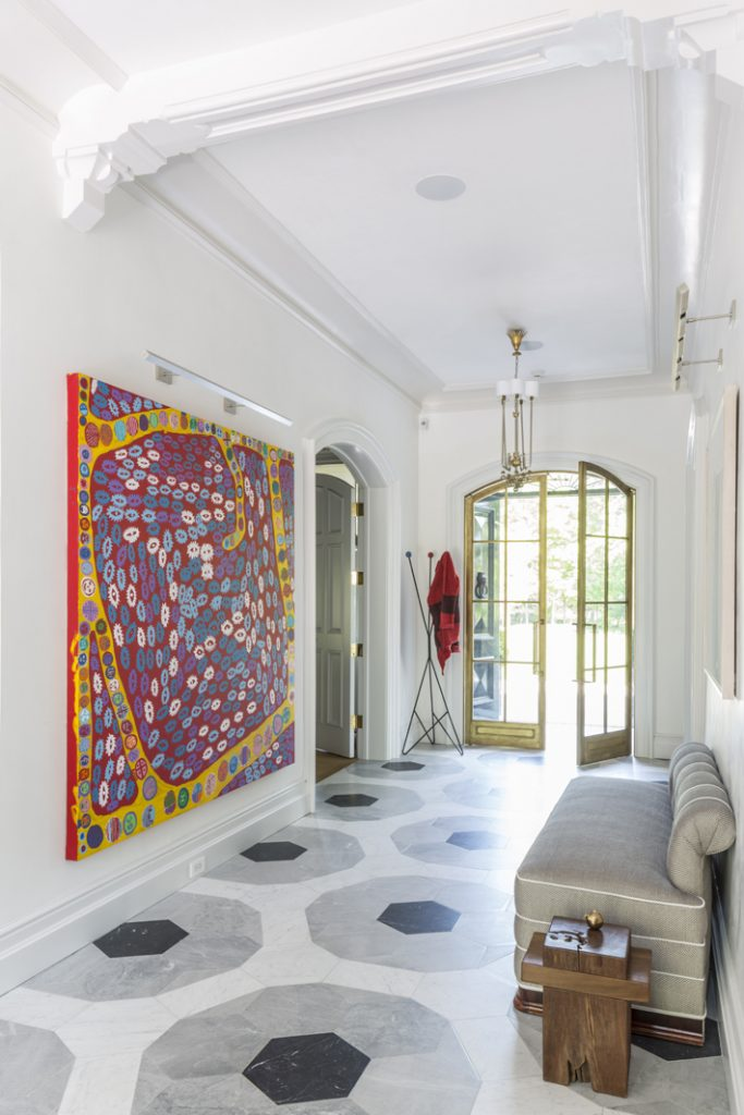 hallway designed by sara story design - celebrating women's history month with top female interior designers