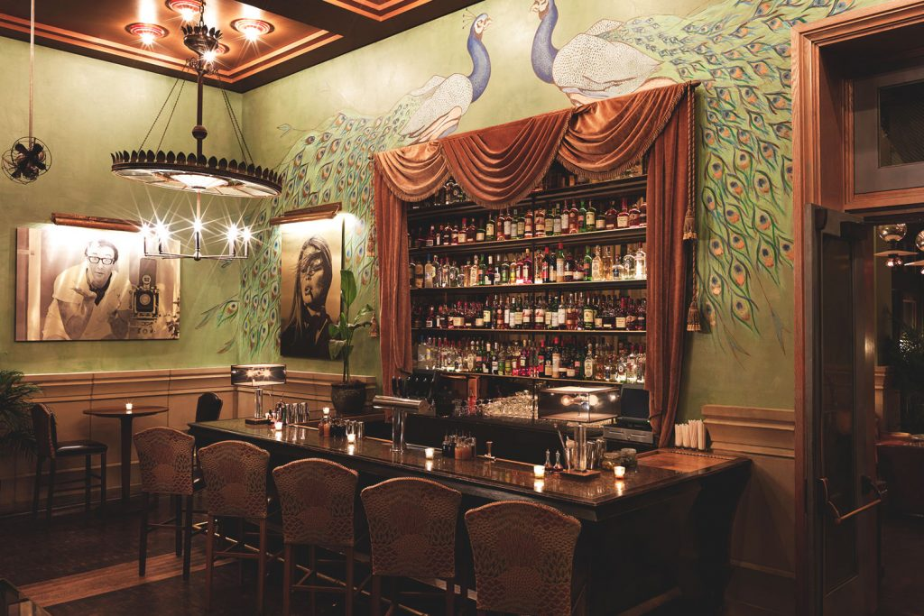 the club bar at soho grand hotel - a top boutique hotel in nyc
