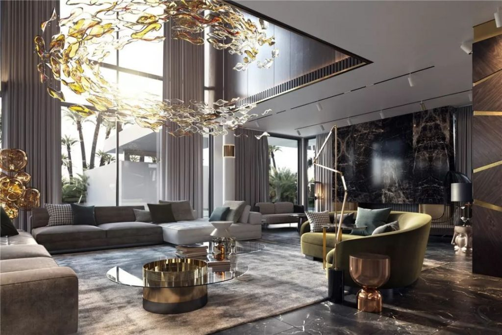 glamorous living room design by studia 54 - celebrating women's history month with top female interior designers