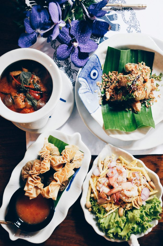 Arial view of food in Thailand - 2019 luxury destinations - Photo by Alex Block on Unsplash