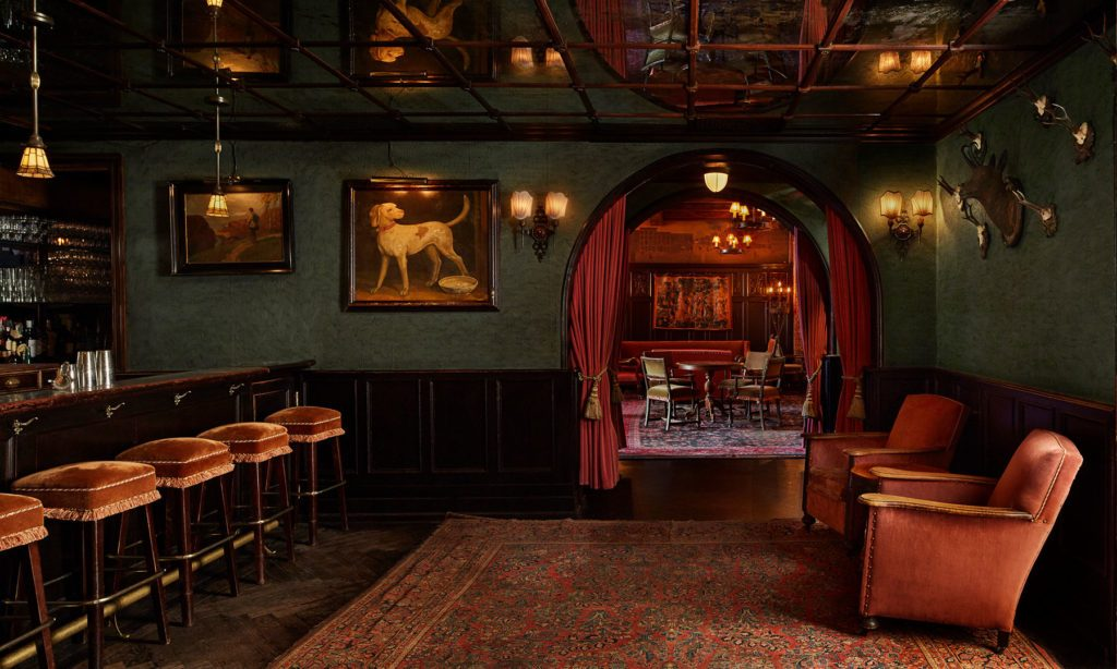 The Bowery Lobby Bar at The Bowery Hotel - a top boutique hotel in nyc