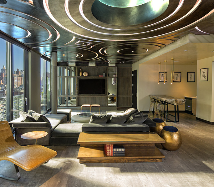 the guesthouse penthouse at dream downtown hotel in new york - a top boutique hotel in nyc