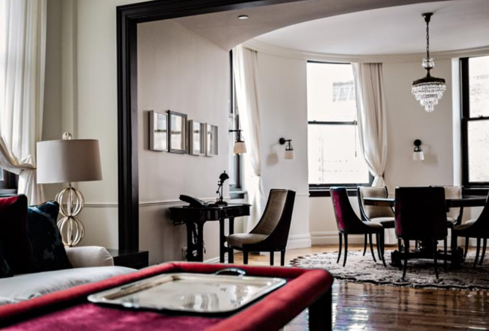 suite at the nomad hotel new york designed by jacques garcia - a top boutique hotel in nyc