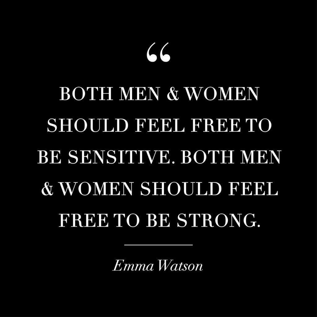 women empowerment quotes - both men and women should feel free to be sensitive. both men and women should feel free to be strong. quote by emma watson
