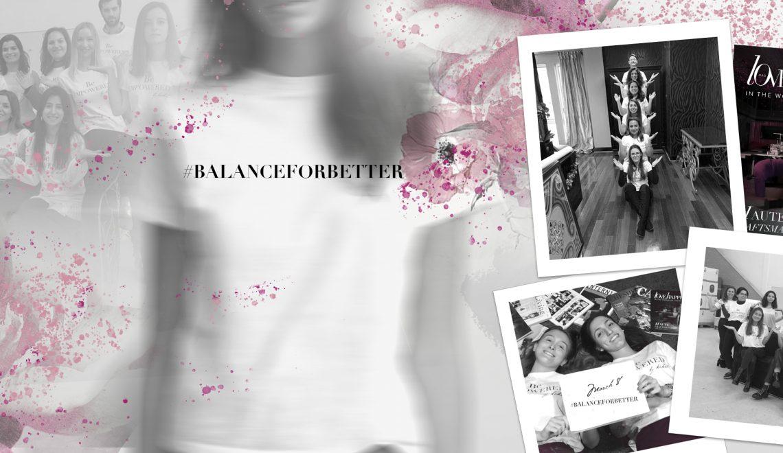 balanceforbetter love happens and koket - international women's day 2019