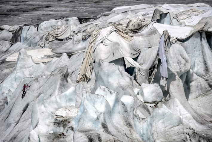 Glacier Wrapping at Trienalle di Milano Exhibition