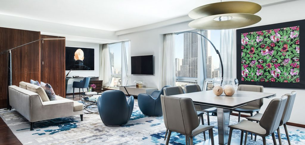 suite at the langham hotel new york - a top boutique hotel in nyc
