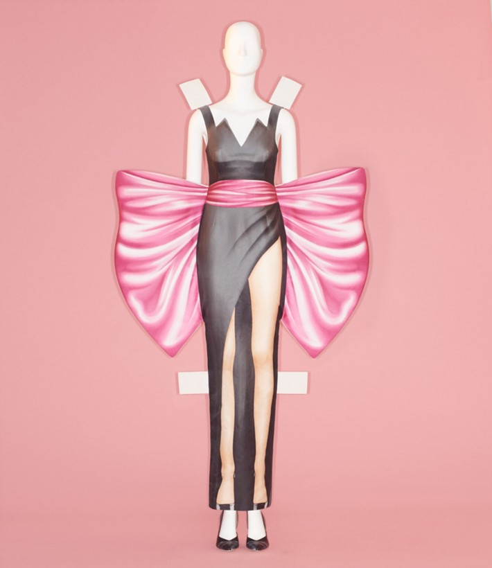 Jeremy Scott for House of Moschino at the met costume institute camp notes on fashion exhibition