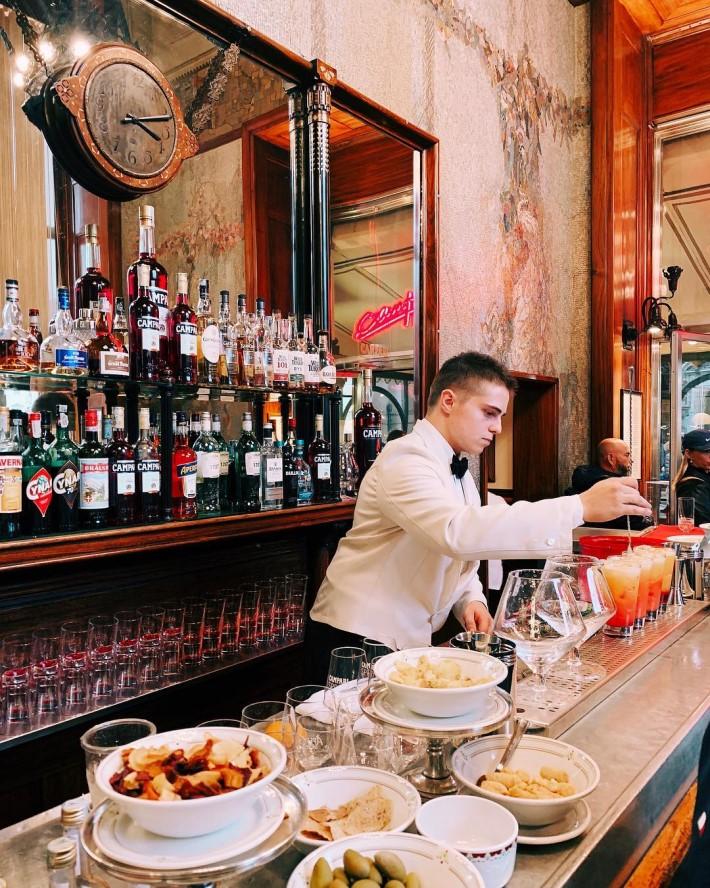 best bars in Milan: Gampari Bar