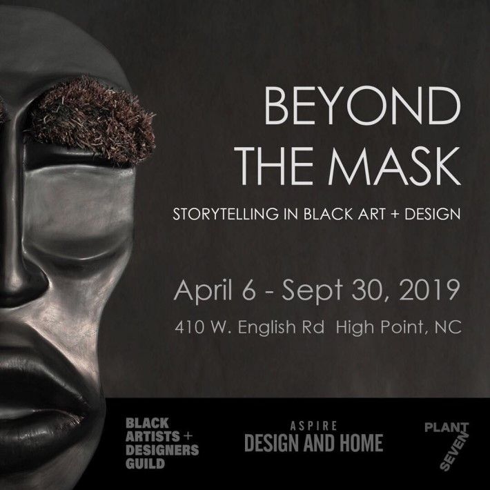 beyond the mask art at high point market 2019