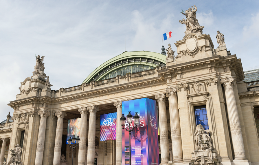 Art Paris 2019 Grand Palais Exterior