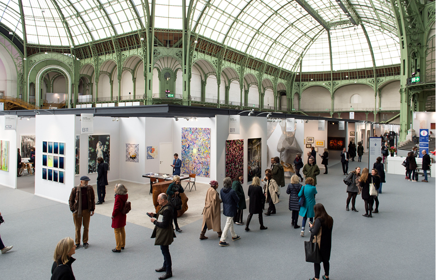 Art Paris 2019 at the Grand Palais Paris