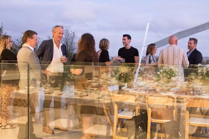 LCD Dinner by Ginna Christensen GC Collaborative - design industry brand consultancy