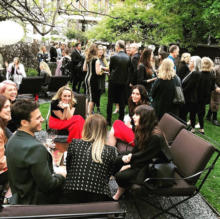 Welcome to Milan Party with Snyder Diamond during Milan Design Week 2019 at the Bulgari Hotel