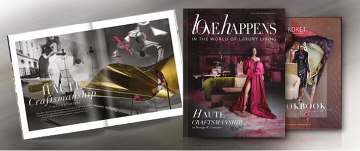 love happens magazine volume 3 at salone del mobile milano 2019 - haute craftsmanship in design and couture
