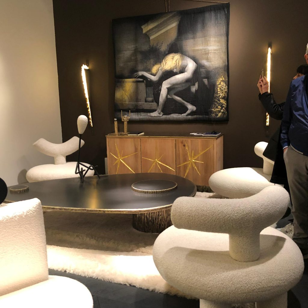 contemporary furniture at pad paris 2019 art and design show