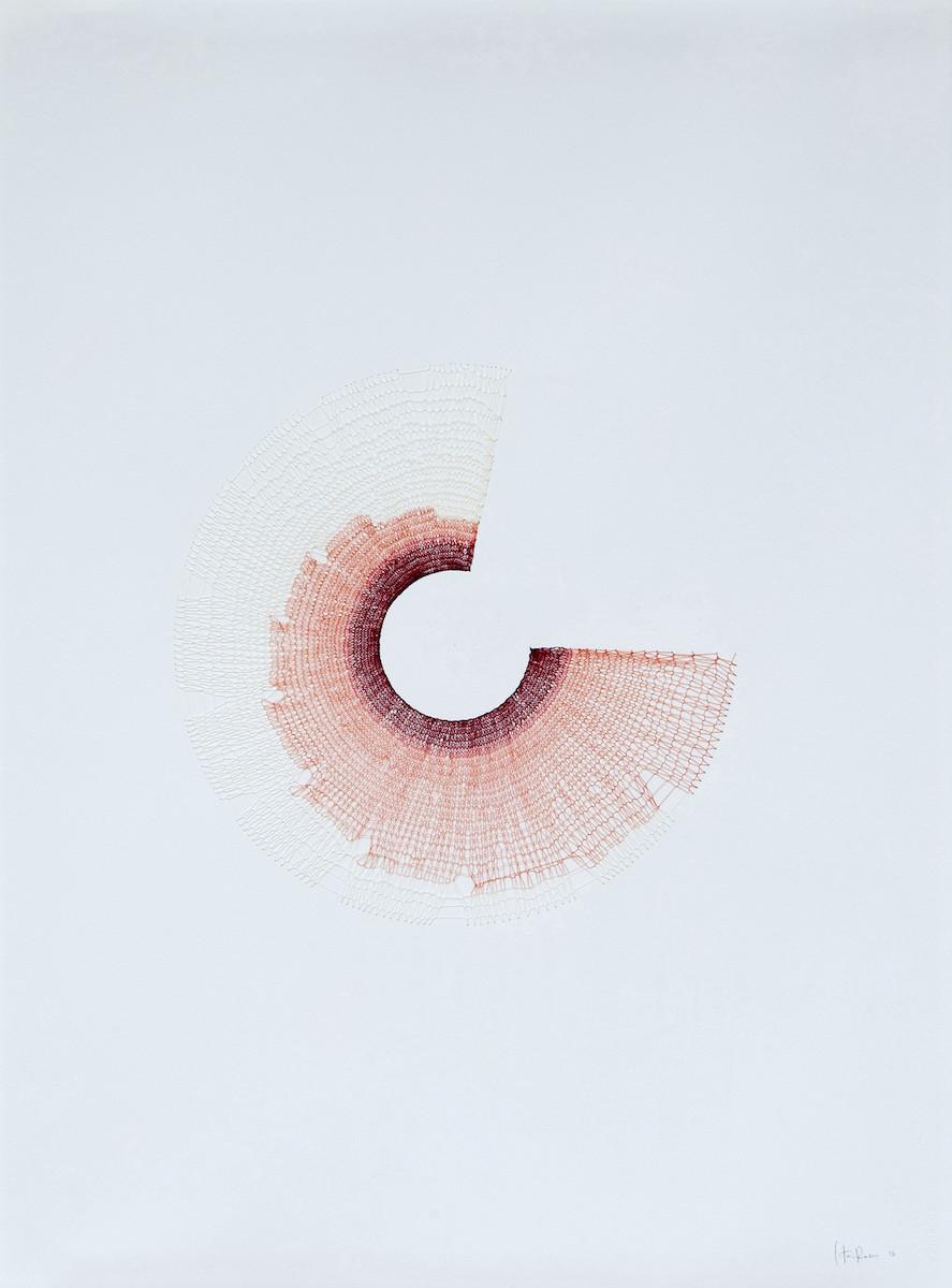 Catarina Rosa, Ecorce III, 2013, Galerie Eko Sato at Art Paris 2019