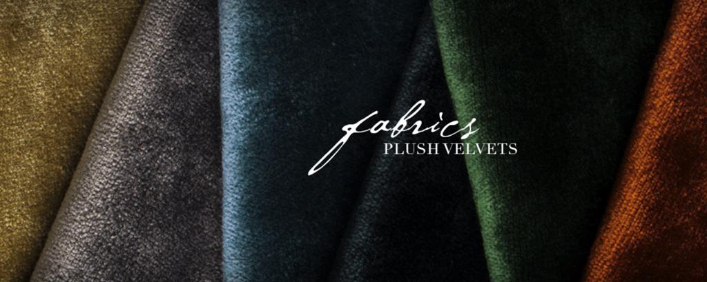 koket textiles plush velvets - how to use velvet - velvet trend