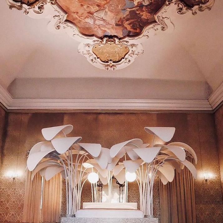 marc ange installation at milan design week 2019 called le refuge de la nuit at palazzo cusani