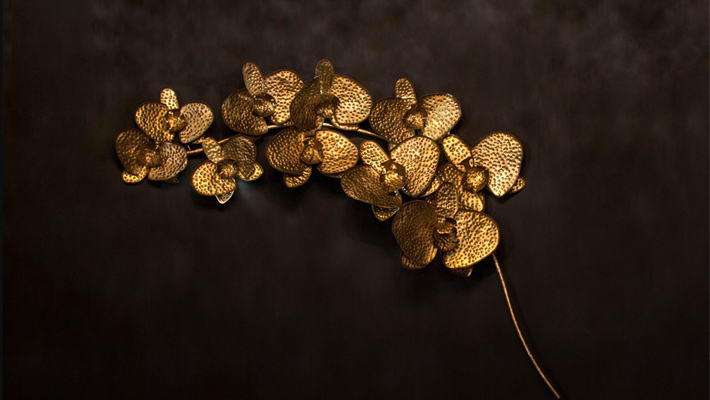 orchidea sculpture by koket salone del mobile 2019 nature trend