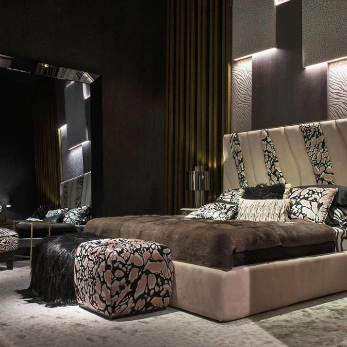 roberto cavalli home - fashion x furniture trend at salone del mobile 2019