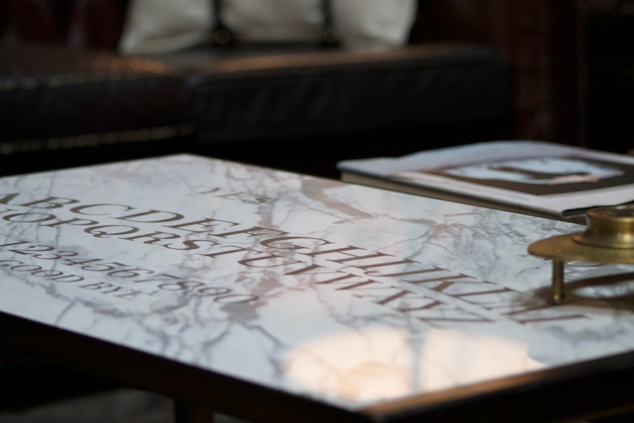 A Marble Ouija Board by (wh)ORE HAüs studio furniture