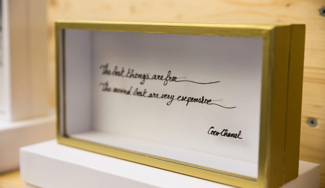 tick my box x yad cheri box of curiosity by valentine herrenschmidt - coco chanel quote