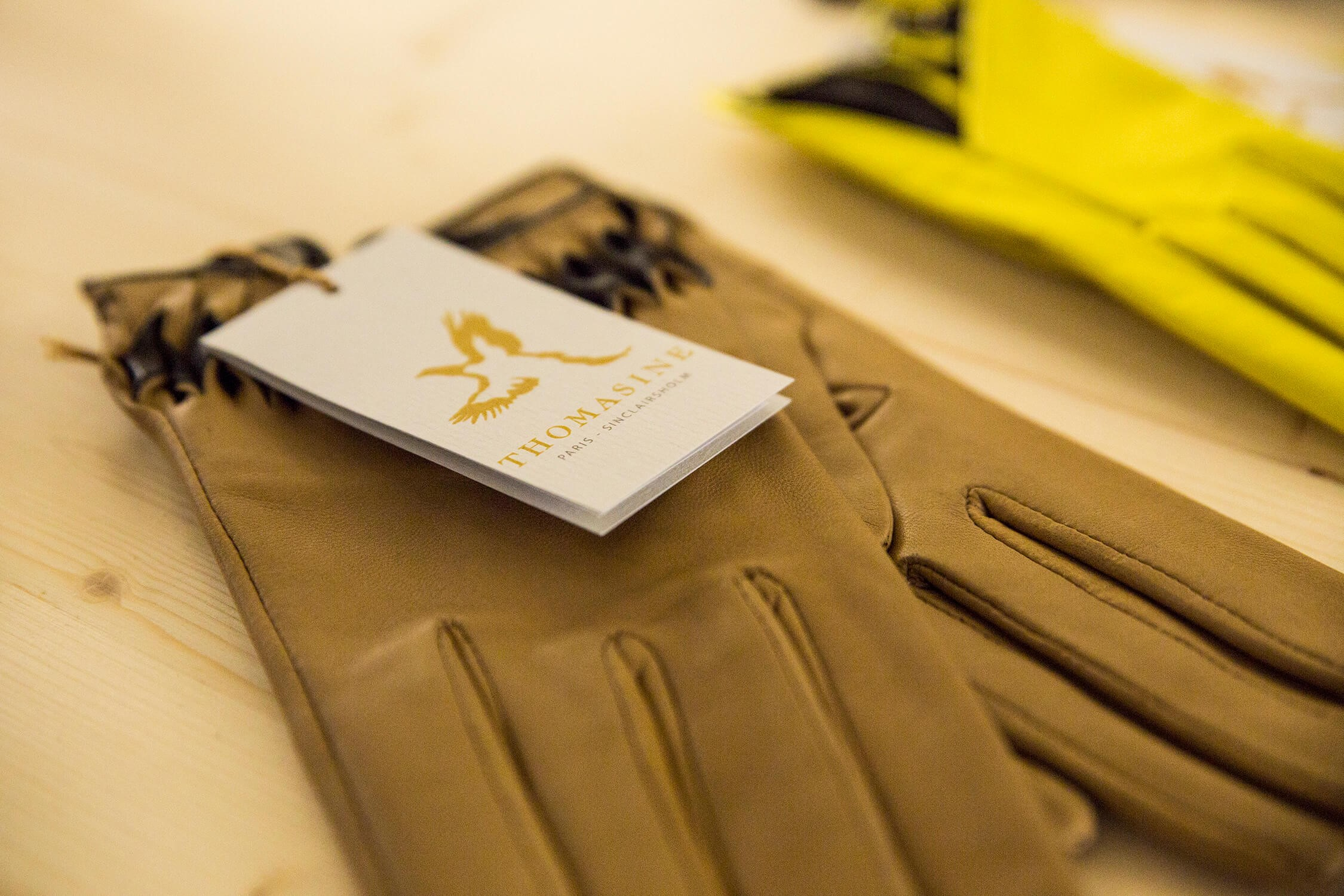 Leather Gloves by Thomasine Barnekow at Tick My Box x Yad Chei Pop-up Event - luxury craftsmanship