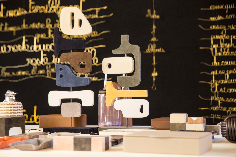 works of art at tick my box x yad cheri pop-up event - luxury craftmanship