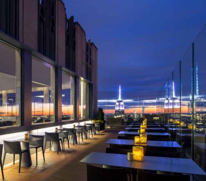 Best rooftop bars in NYC:  Bar SixtyFive at the rainbow room