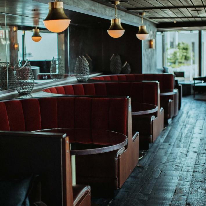 Best rooftop bars in NYC - Harriet's Rooftop & Lounge at 1 Hotel Brooklyn Bridge