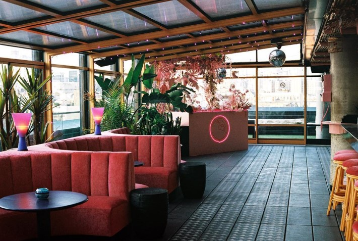 best rooftop bars nyc - Make Believe at sixty les