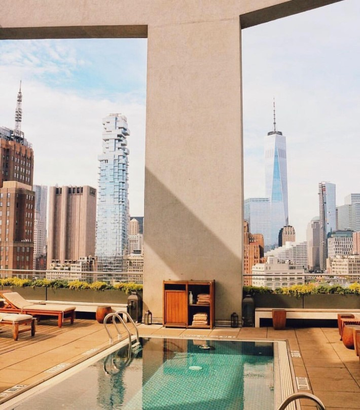 Best Rooftop Bars nyc - Jimmy at The James Hotel