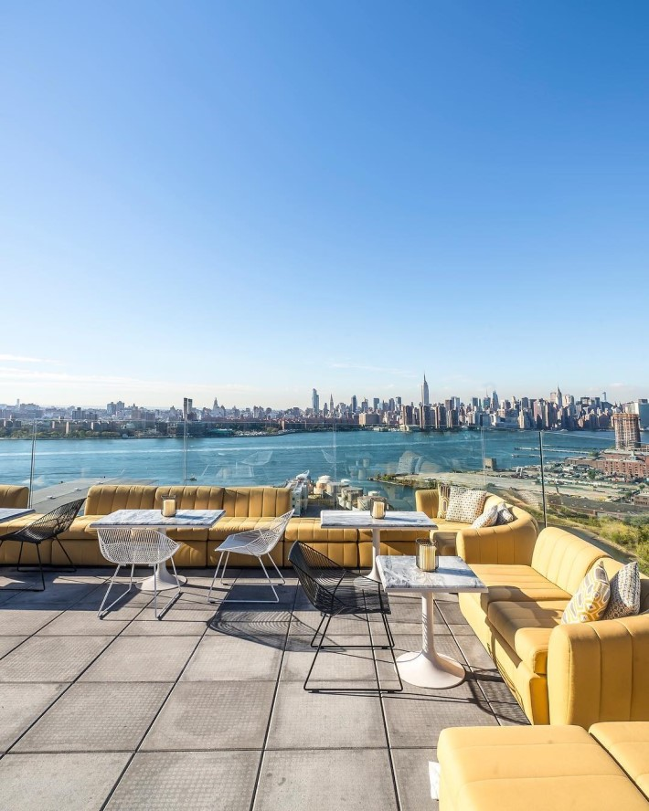 westlight the william vale - best rooftop bars nyc