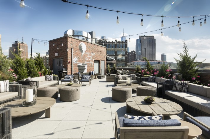 Best rooftop bars in NYC - arlo rooftop bar at A.R.T. SoHo