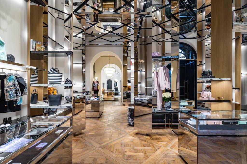 Balmain Paris Flagship Store Saint Honoré - Designed by Studio AMV