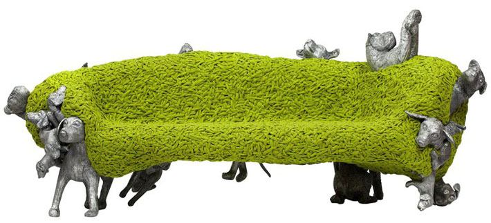 noah bench by the campana brothers - camp and kitsch