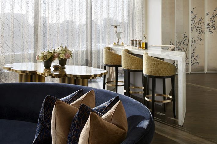 luxury living room interior design by celine estates