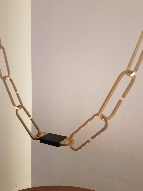 chandelier by davide groppi at euroluce 2019