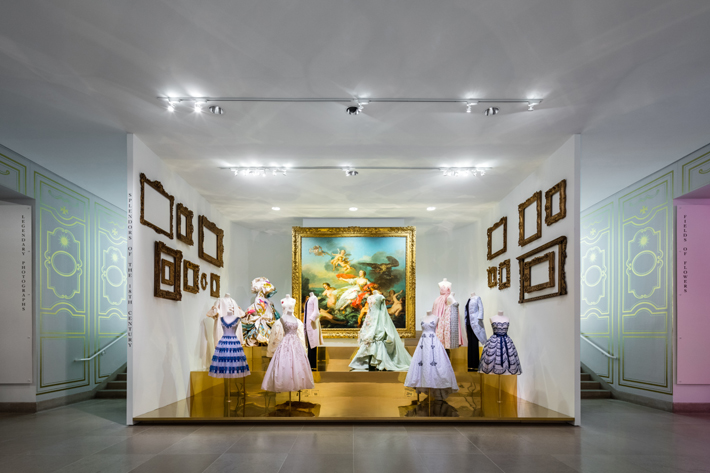Dior From Paris to the World Exhibition at Dallas Museum Of Art