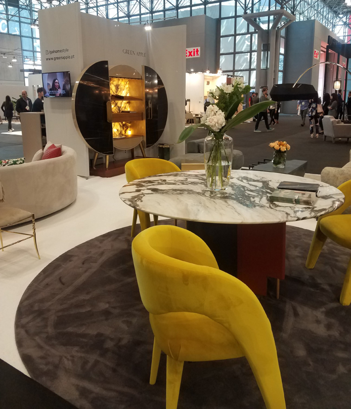 green apple furniture at icff 2019