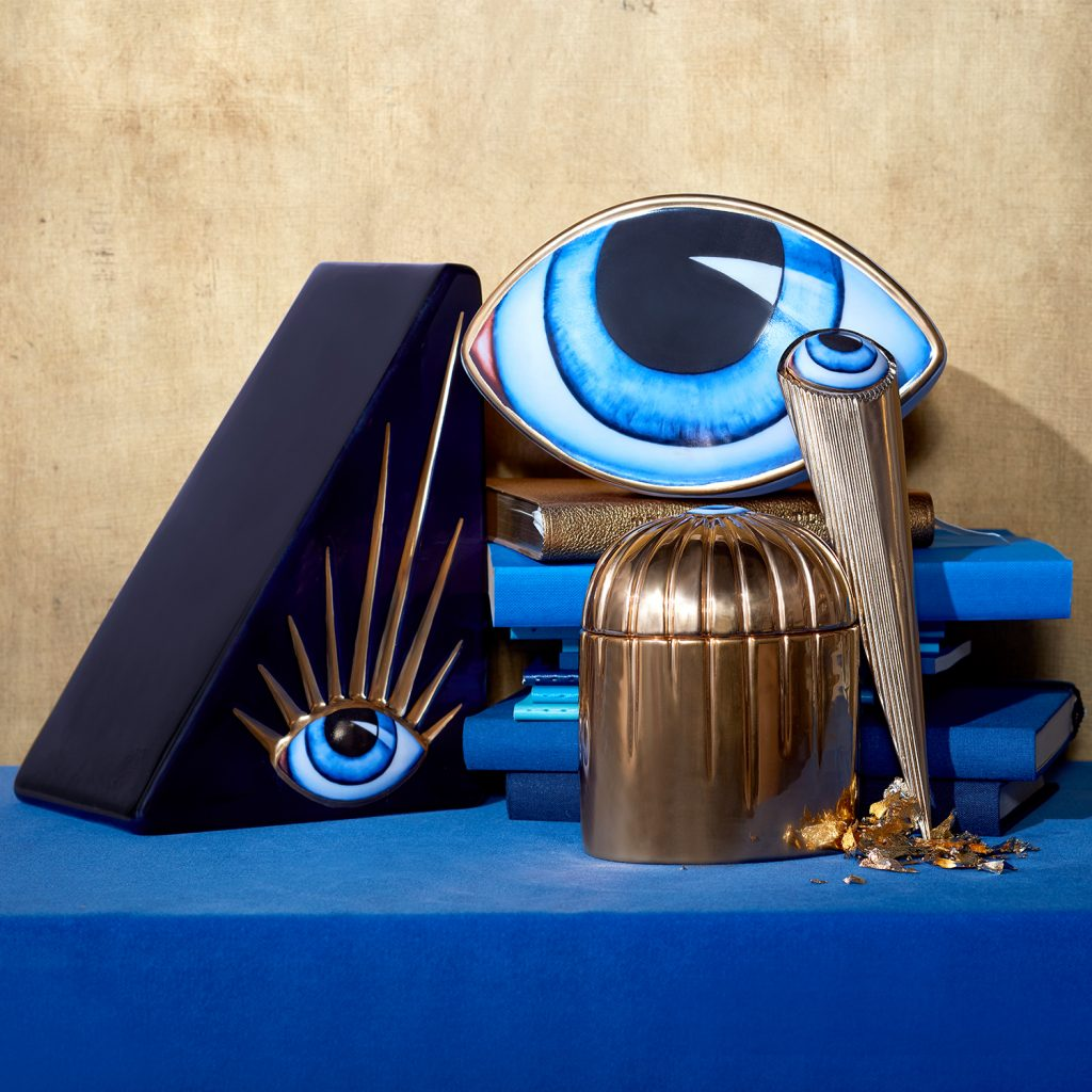 lito collection by l'objet - camp and kitsch at home - home decor with eyes