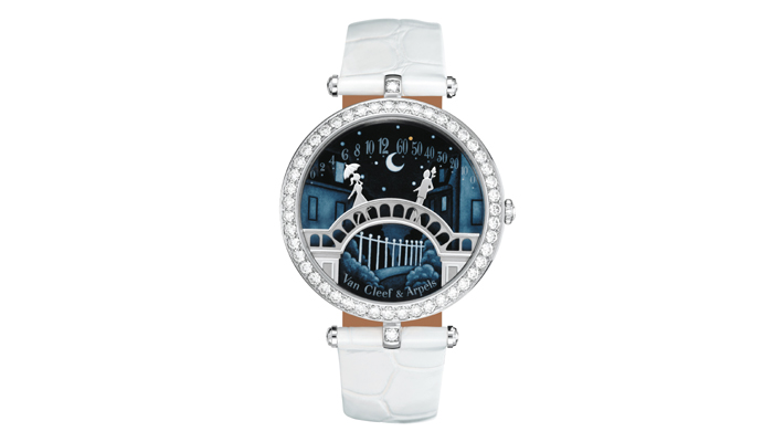 "Lady Arpels ""Pont des Amoureux watch by van cleef and arpels - iconic design"