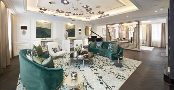 Eaton Place Belgravia designed by Fenton Whelan