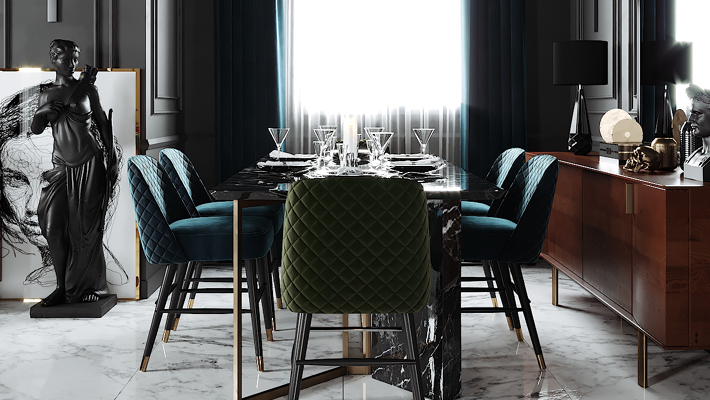 How to Create a Luxurious Dining Room