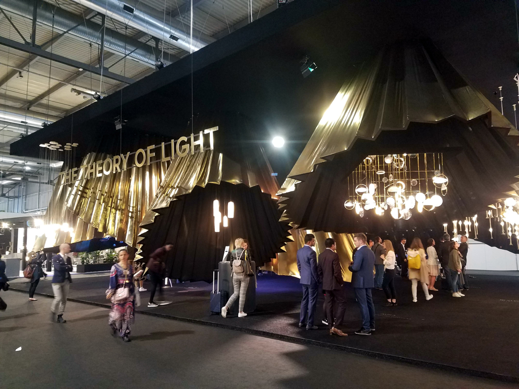 the theory of light by lasvit at euroluce 2019