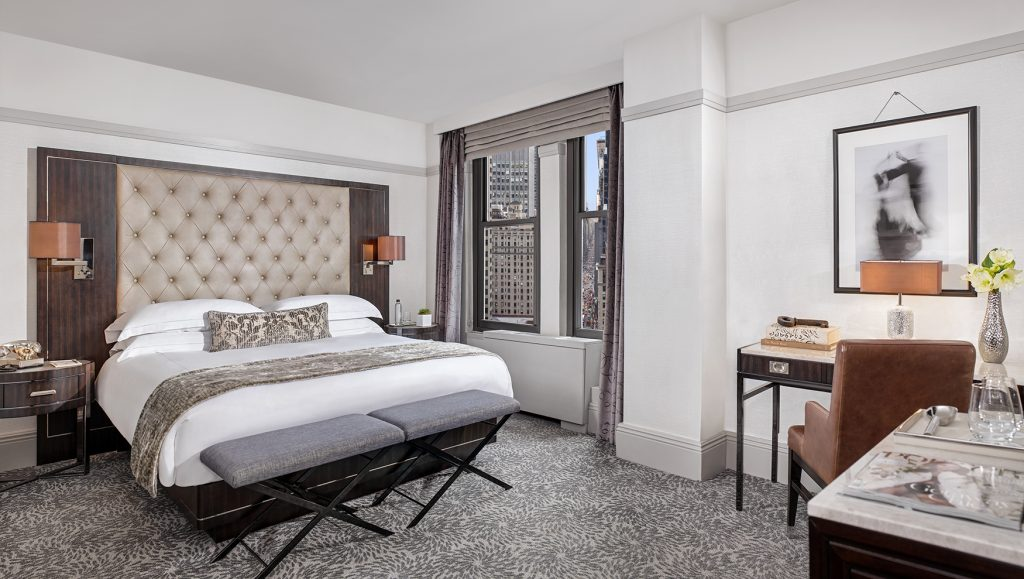 luxury king bedroom at westhouse new york