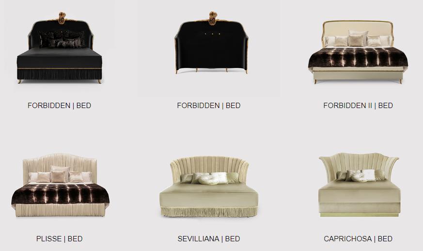 elegant upholstered beds by koket