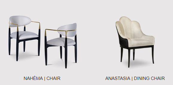 dining chairs by koket