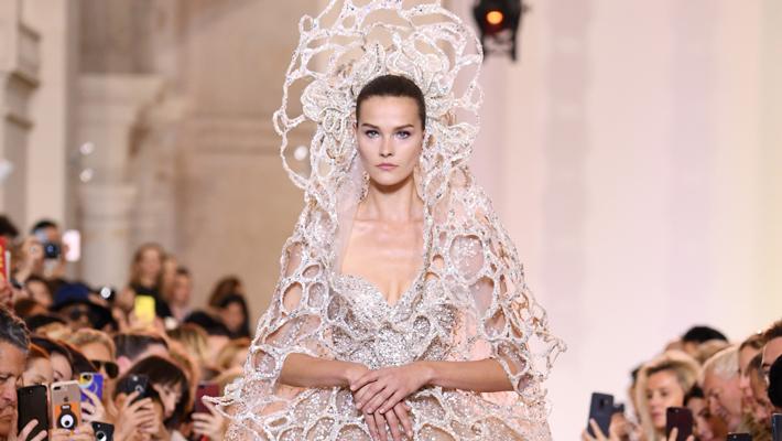 elie saab couture bridal - iconic design